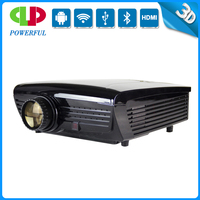 POWERFUL led full hd home theater video projector high lumens support 1080p 3D, 50000hours life