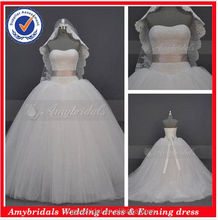 AM346C Puffy ball gown cheap wedding dresses made in china