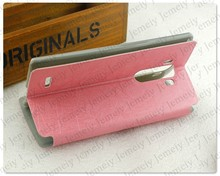 For LG G4 High Quality Mobile Phone Case PU Flip Holder Cell Phone Case For LG G4