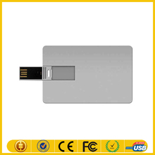 pendrive aluminum credit customized any logo/ pendrive name card USB business card stick