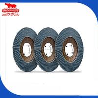 HD073 abrasive 4.5 flap disc 60 grit for steel