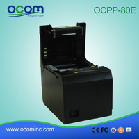 80mm code printing machine thermal, cheap thermal printer with auto cutter