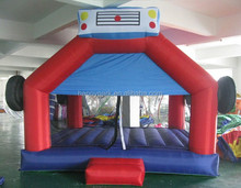 Happy Park construction truck inflatable bounce house