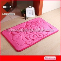Luxury Plush Soft best quality microfiber floor rug for 3d picture floor