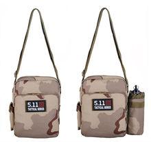 2015 Trendy outdoor military camouflage hunting canvas messenger bag hunting shoulder bag