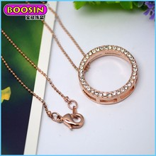 Factory price golden bead chain necklace,latest design bead necklace