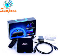 smart tv box amlogic S802 M8 android 4.4 google support download and install quad core