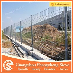 Luxury residential fence/ 3D curved fencing/ decorate wire mesh fence
