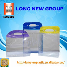 pvc Transparent shopping hand bags manufacturer