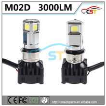 3000LM M02D Motorcycle LED Headlight CE RoHS FCC PSE approved bicycle accessory