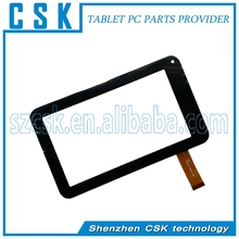 """W70 Black 7""""inch tablet capacitive touch screen touch digitizer for good repair price tablet screen"""