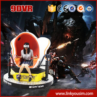 2015 newest,the most hottest hot sale 9d theater equipment/3 seats 360 degree amusement park game machine/9d cinema electronic s
