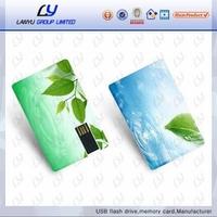 Business card shape usb key, bulk usb flash drives bulk, Factory price real capacity usb flash drive