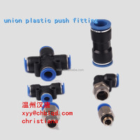 union plastic push fitting,one touch pneumatic fittings,one-touch fittings