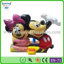 2015 Enjoy mickey mouse/jungle/birthday cake/bird angry/spongebob/cars/balloon/sports/cartoon/princess/bouncy castle slide