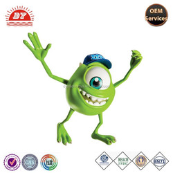 Plastic cartoon hat MR.Q 3D monster university figure