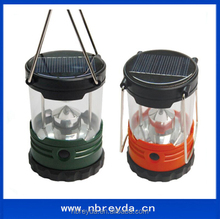 5 LED Solar Rechargeable Camping Lantern Solar Led Light