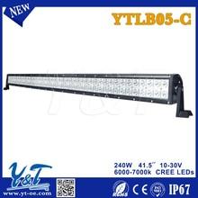 240W outdoor waterproof auto row led light bar
