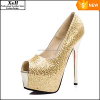 Fashion Fish mouth Pearl Crystal Beaded Wedding Shoes Toe lady's formal shoes Women's High Heels Bridal Evening Prom Party