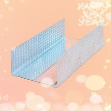 gypsumboard/cementboard/plasterboard runner channel C channel/drywall steel track/stud channel/