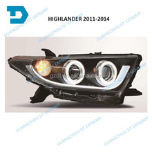 2011 2012 2013 2014 LED HEADLIGHT HEAD LAMP FOR TOYOTA HIGHLANDER