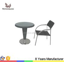 Rrestaurant outdoor wicker coffee table