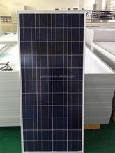 China Manufacturer price per watt solar panels 150W poly solar panels for home solar systems