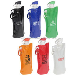 New Design Popular Unique Novelty Flip Top Folding Water Bottle