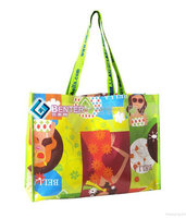 PP laminated non woven shopping net gift bags