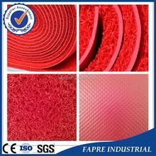 2015 HOT product PVC coil mat /PVC Vinyl coil mat /pvc anti slip coil mat