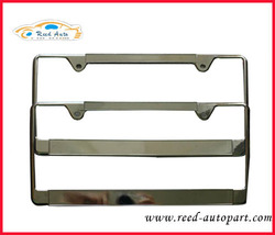 Stainless steel CAR LICENSE plate frame
