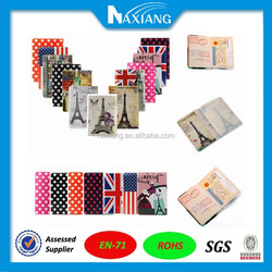 2015 China Supply A4 / A5 / A6 Transparent School PVC Book Cover and plastic pvc card holder
