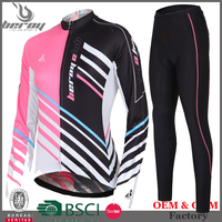 BEROY top quality women cycling jersey, fitness cycling wear