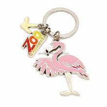 Hot sale custom metal 3d animal shaped keychain