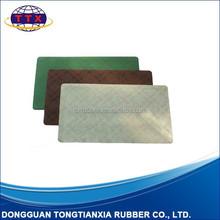 rubber flocking door mat