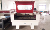 Deruge laser cutting machine for plush toys,leathers,bags,leather shoes laser cutting machine