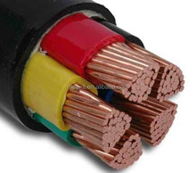 ISO certificated copper core XLPE Insulation electric cable