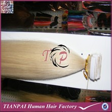 Grade 7a wholesale russian tape extensions, 36 inch russian tape hair extensions, remy blonde tape extensions
