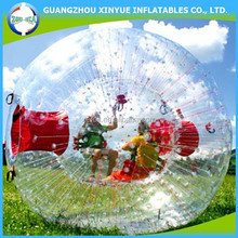 Inflatable human sized soccer bubble ball