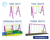 Large stock JT-11907B Outdoor kids swing sets