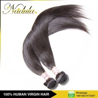Machine Weft Intact Cuticle Remy Double Drawn Virgin Indian Hair
