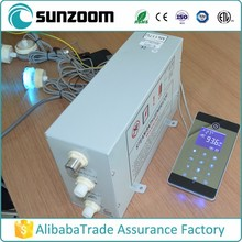 SUNZOOM TUV certified steam bath steamer,wet steam generator,chinese supplier steam generator