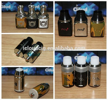 Innovative clean two post design velocity rda black and silver from icloudcig wholesale