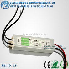 IP67 Outdoor LED Power Supply 10W Transformer 12V ac dc Waterproof Switching Power Supply