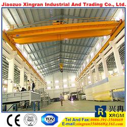 workshop two girder bridge crane permanent magnet motors for sale 10t bridge crane with electric hoist