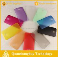 Matte transparent ultra thin soft PP phone case for MOTO Nexus 6 mobile case cheap china manufacturer case