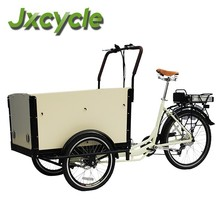ce approval three wheel cargo bike for kids