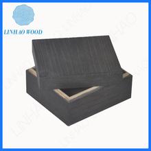 Alta calidad hechos a mano caja de regalo de madera