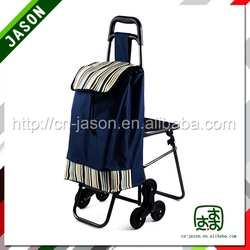 High quality shopping trolley with chair