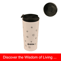 360ml Stainless Steel Bodum Style Coffee Cup
